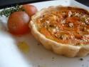 Baby tomato tart