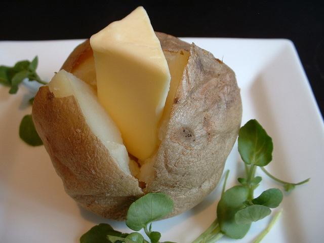 Baked jacket potato