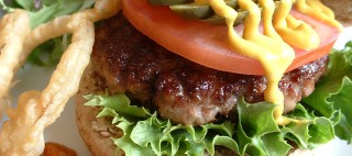 Reasons for cooking - Homemade beefburgers