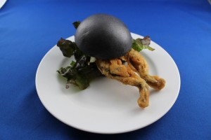 Latest food news - Black bun frog burger