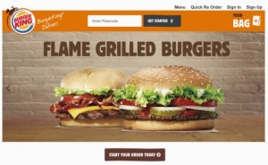 Latest food news - Burger King is trailling a delivery service in the UK