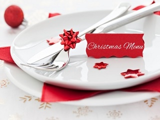 Christmas Menu Setting