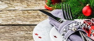 Christmas lunch menu and tips