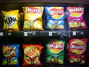 Latest food news - Crisps are not one of your five a day