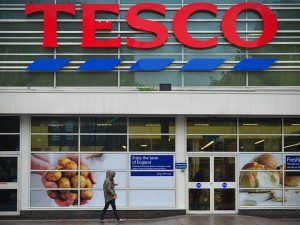 Crisps sold in Tesco checkout aisles