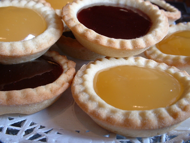 Jam and Lemon tarts