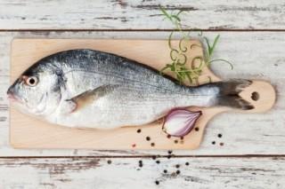 Shopping locally - fresh fish