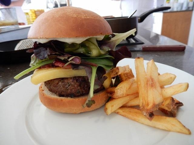 Gourmet Burger - Braxted Park
