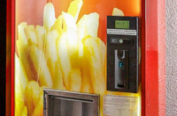 Latest food news - Hot chip vending machine