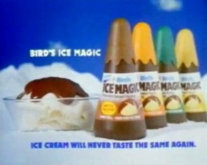 Latest food news - Ice creams from the nineties