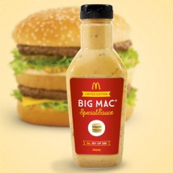 McDonald starts selling Big Mac sauce
