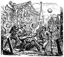 Pancake Day  -Shrove Tuesday - Mob Football