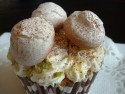 Basic meringue mix - use to make mushroom cupcakes
