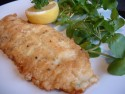 Pan-fried fillet of plaice