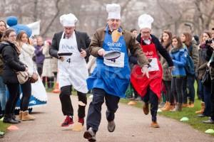 Pancake Day - Pancake Races