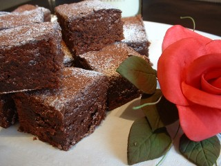 Valentines recipes - Chocolate brownies