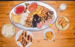 Very big breakfast