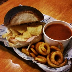Worlds first crisp sandwich cafe