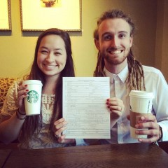 Would you have a starbucks wedding