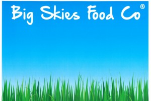 big skies food co logo