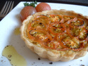 Click here for a great tomato tart recipe