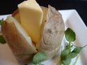 Click here for a great baked jacket potato recipe