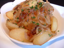 Click here for a great lyonnaise potato recipe