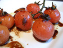 Click here for a great roasted vine tomatoes recipe
